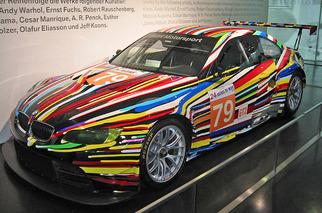 BMW Art Cars: Performance Meets Palette