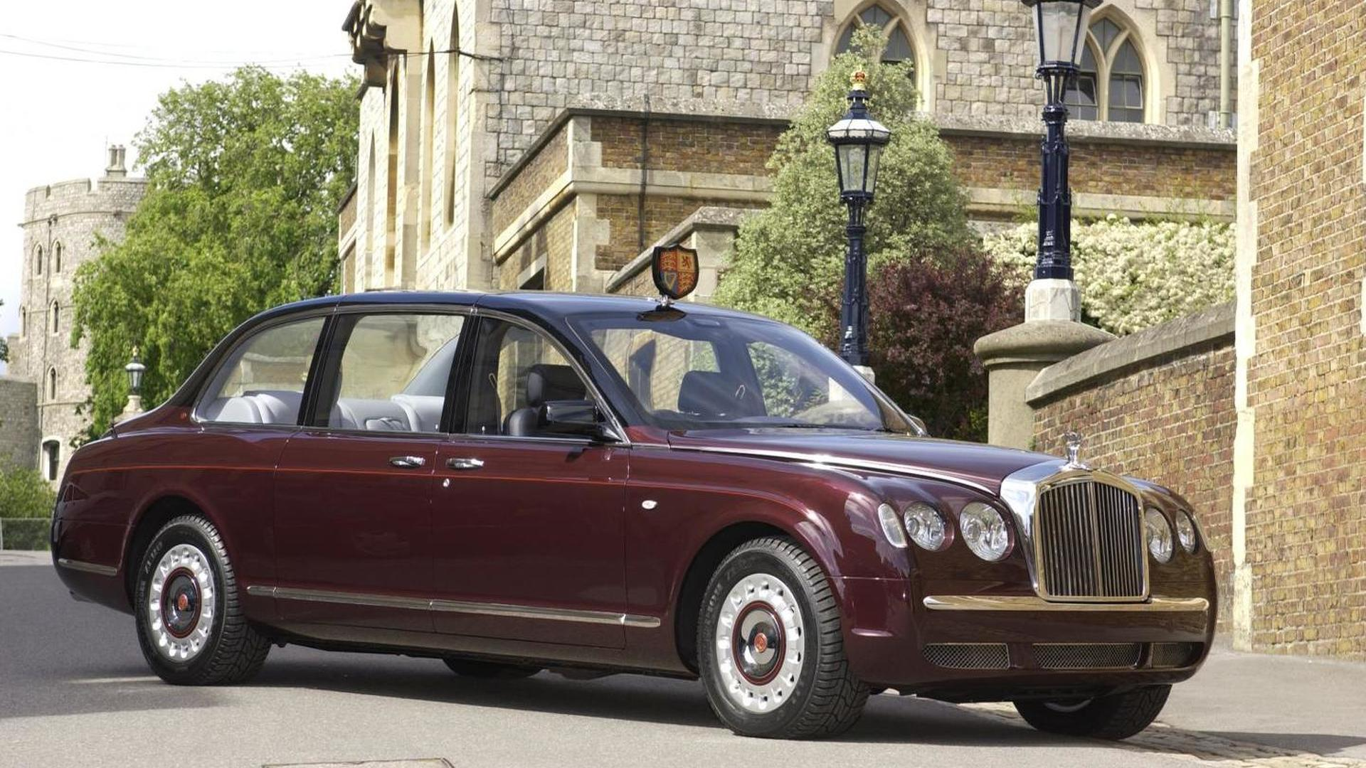 Queen's Bentley State Limousine to be showcased in Buckingham Palace Gardens