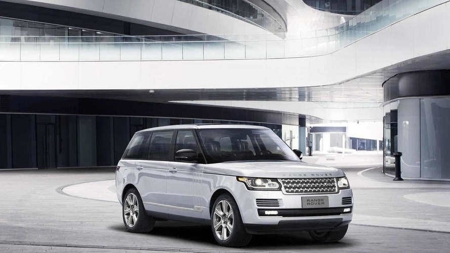 Range Rover Hybrid Long Wheelbase launched at Beijing Motor Show