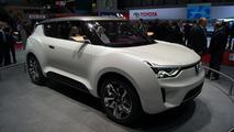 Ssangyong XIV-2 Convertible Crossover Concept live in Geneva 06.03.2012