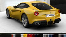 Ferrari F12 Berlinetta configurator screenshot, 952, 29.02.2012