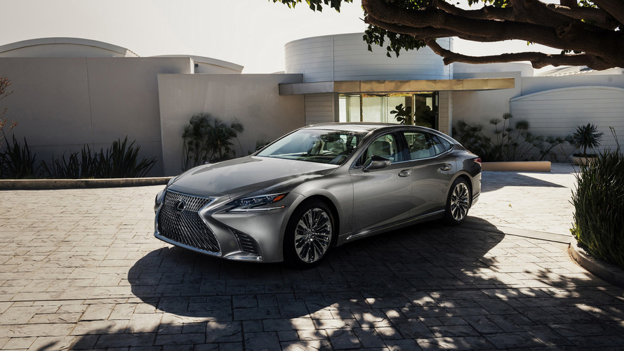 Lexus LS flagship sedan gets sporting redesign