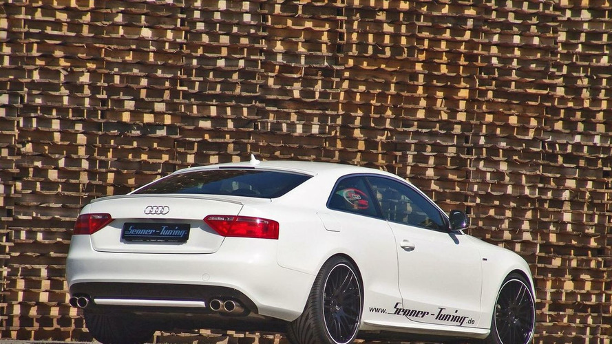 Senner Tuning creates Audi A5 Black and White