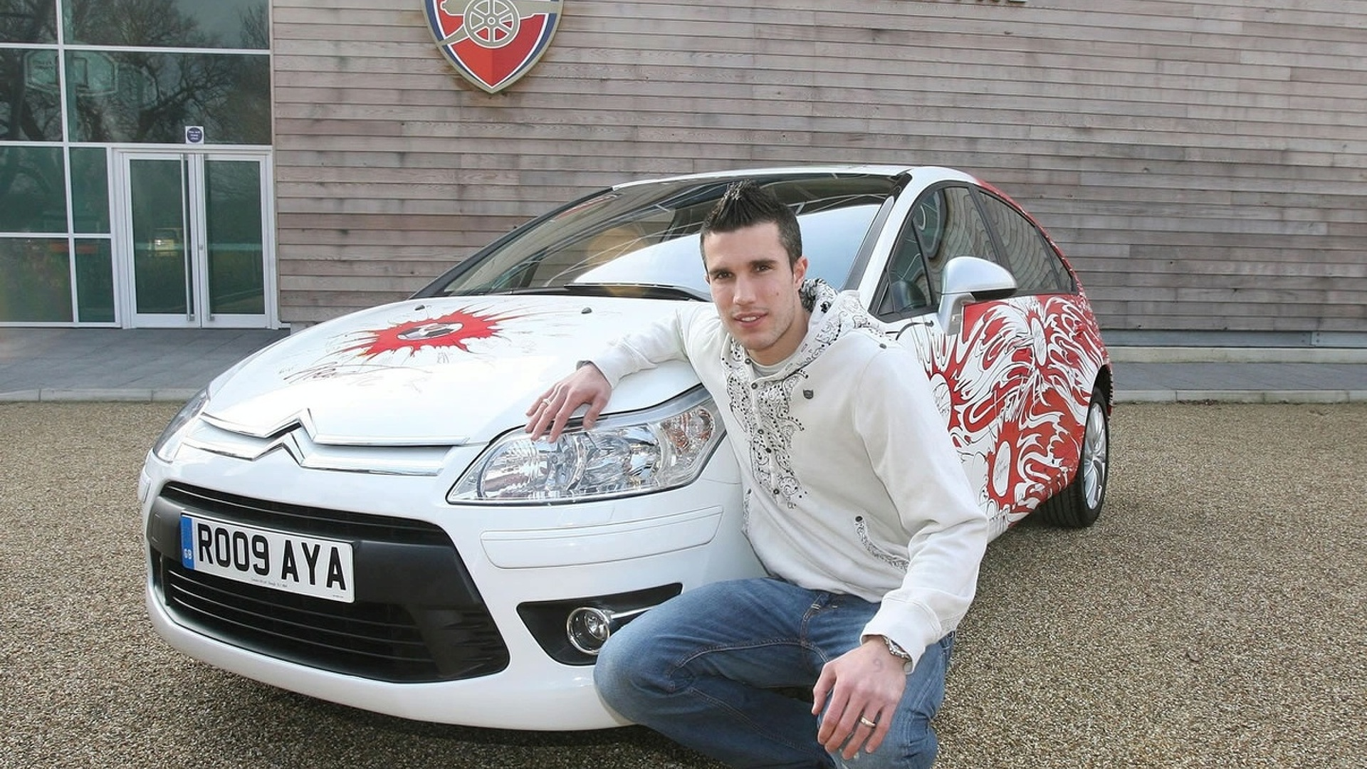 Gerald Scarfe Designs Arsenal Fans' Dream Citroen C4