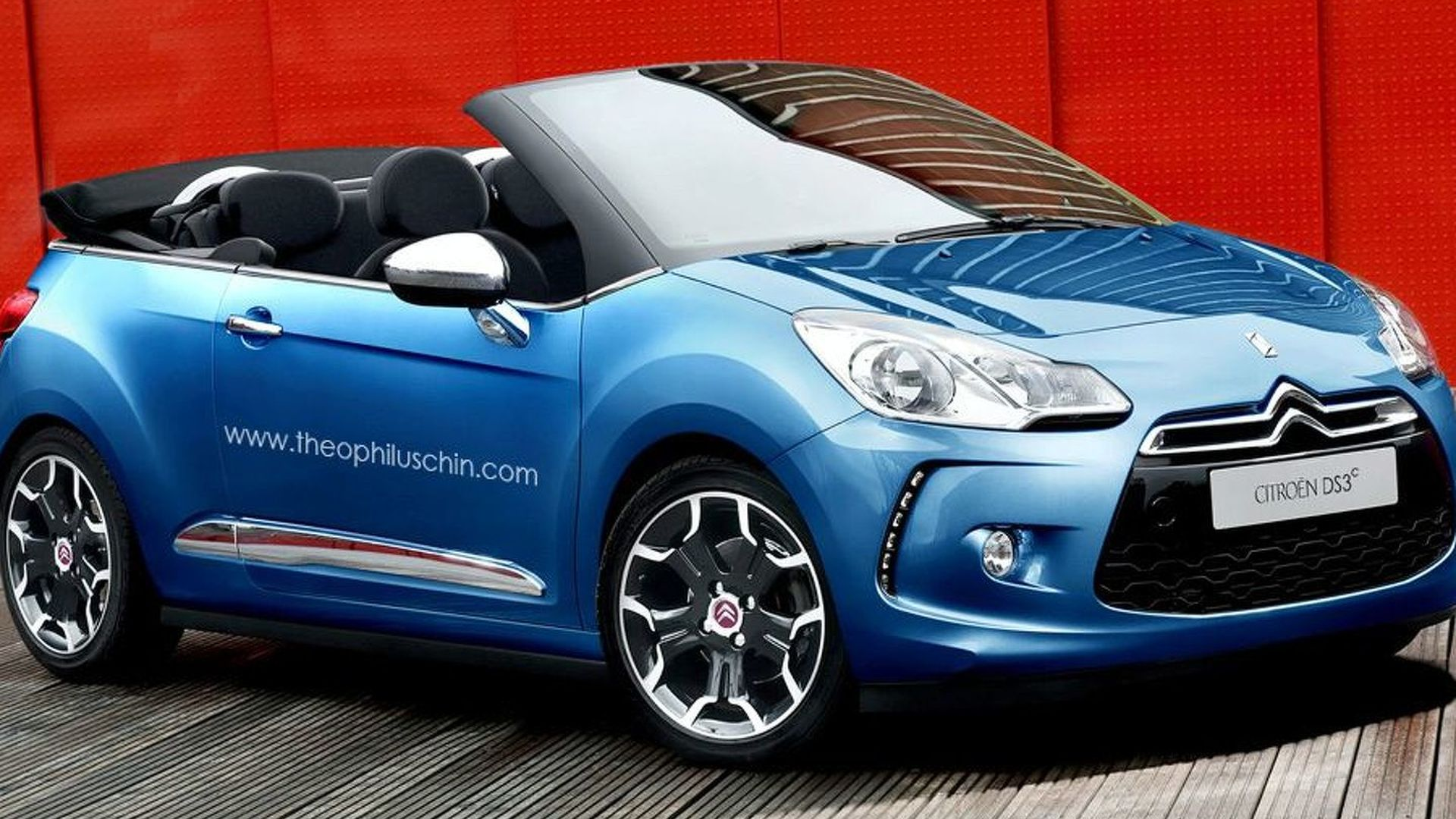 citroen ds3 convertible rendered speculated. Black Bedroom Furniture Sets. Home Design Ideas
