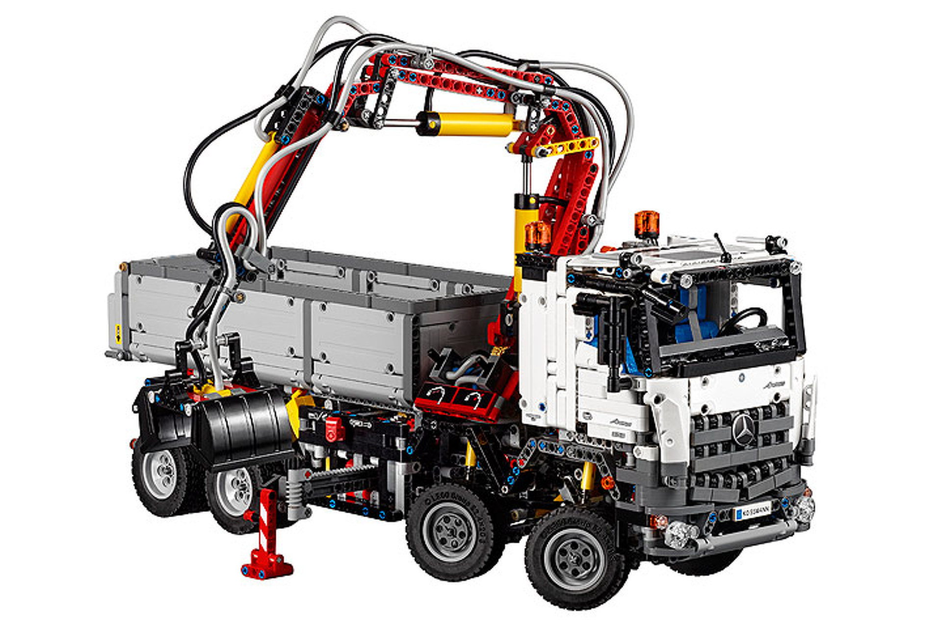 LEGO Brings Mercedes Trucks to a Living Room Near You