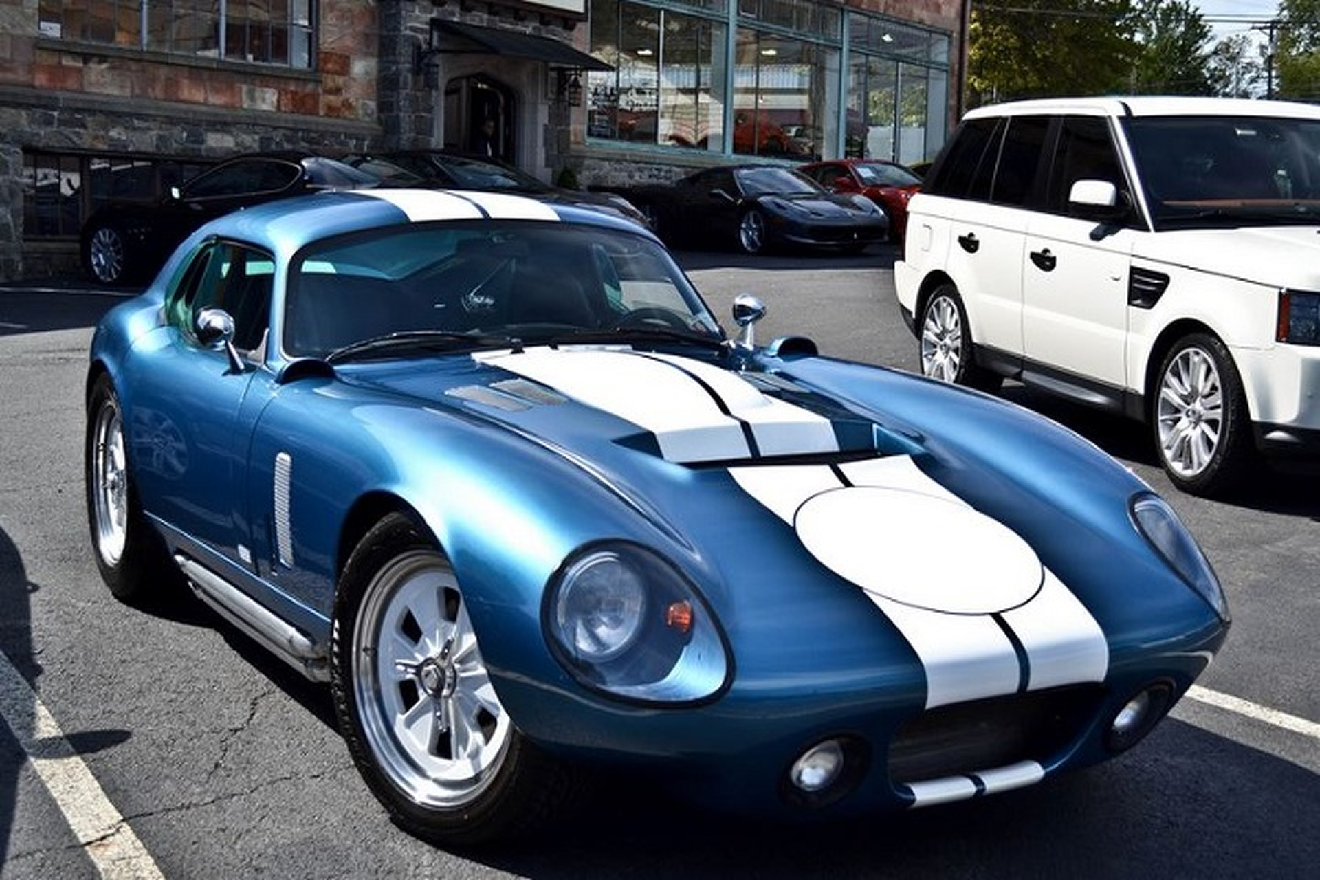 Frankie Muniz Bought a Gorgeous Shelby Daytona Coupe