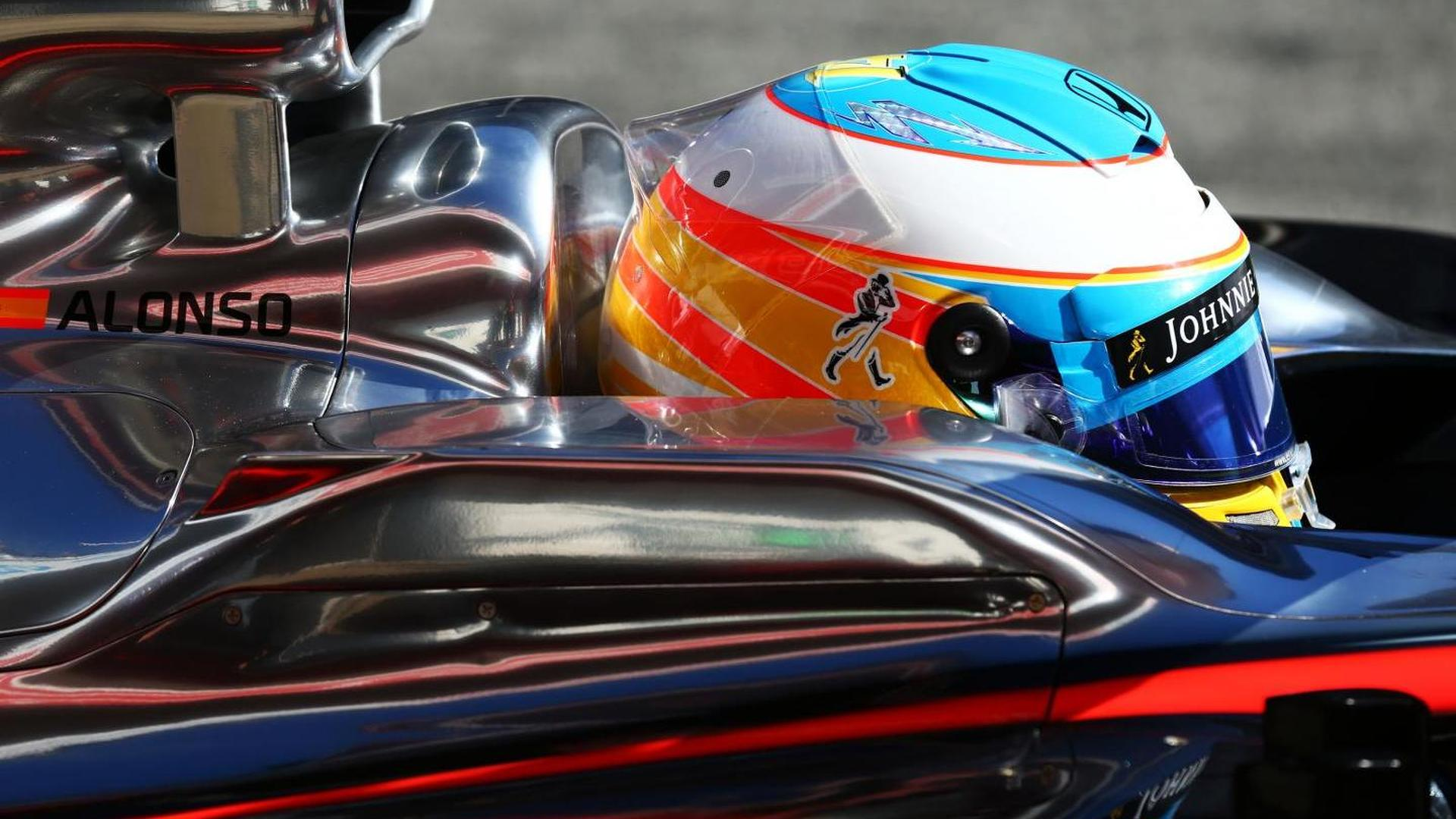 Alonso declares 'locked steering' caused crash, no loss of memory