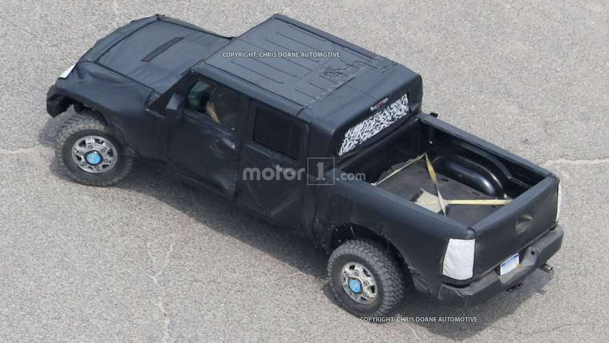 Jeep Wrangler Pickup coming 2019, may use Ram chassis