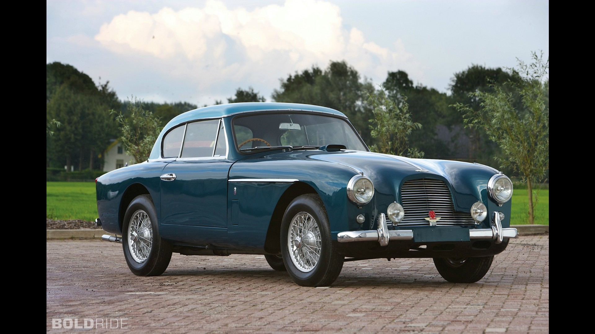 Aston Martin DB2/4 Mark II Fixed Head Coupe Notchback