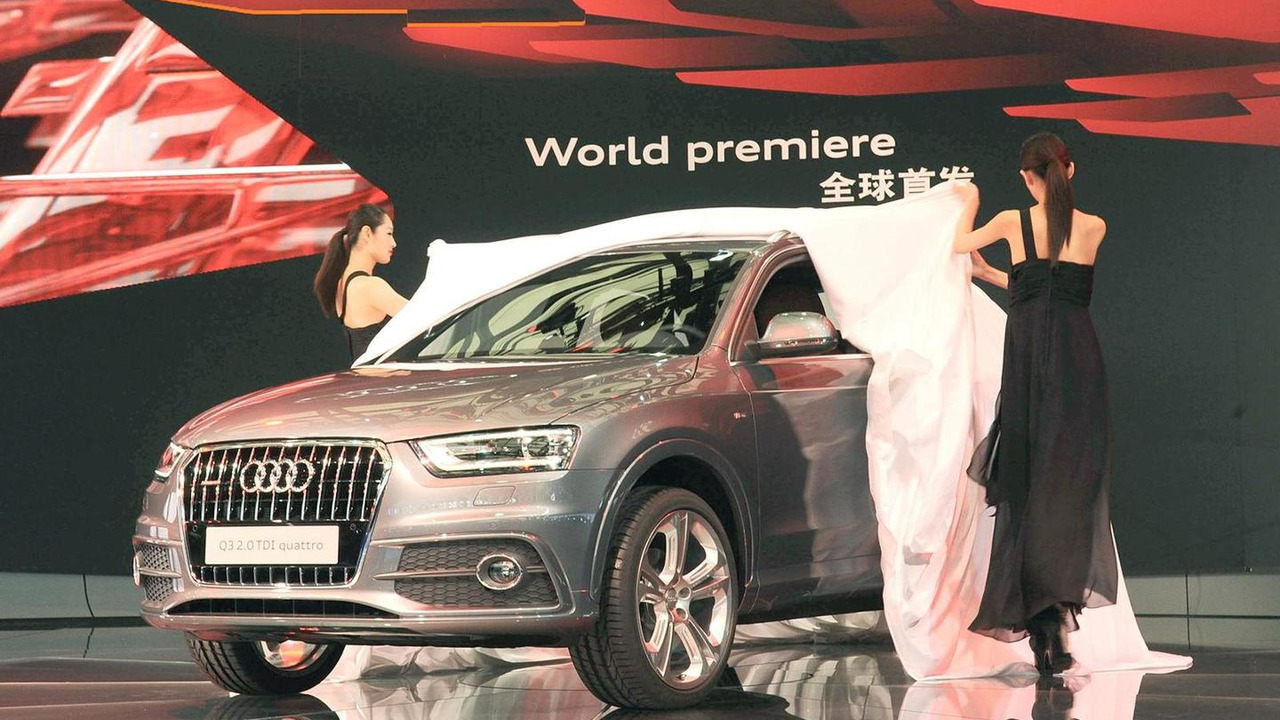 2012 Audi Q3 world debut live from Shanghai