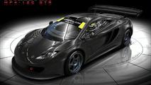 McLaren MP4-12C in test car form artist rendering - 920