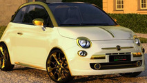 Fiat 500C La Dolce Vita Gold and Diamonds by Fenice Milano 18.01.2011