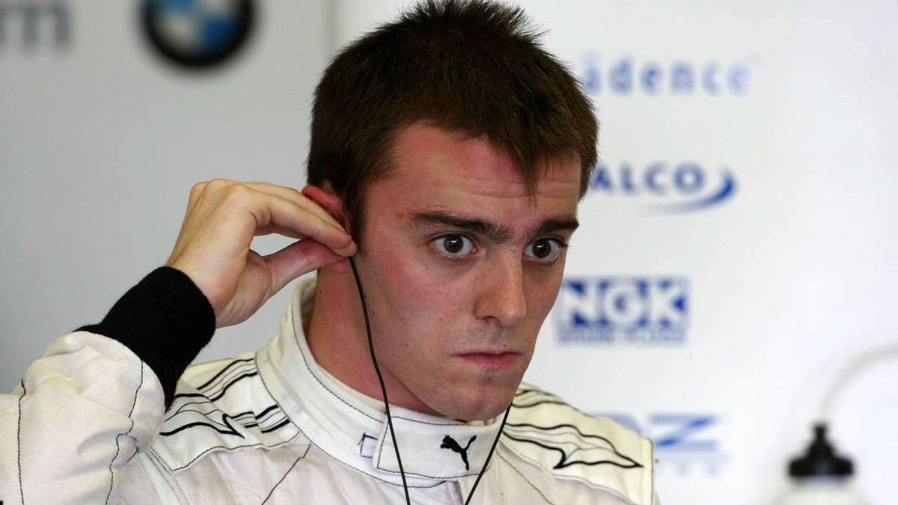 Bertrand Baguette (BEL) Tests for the BMW Sauber F1 Team, Jerez, Spain, 03.12.2009