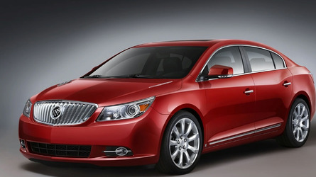 2010 Buick LaCrosse gets Fuel Efficient Ecotec 2.4L Four-Cylinder Engine