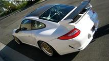 Porsche GT3 carbon fiber roof transplant by GMG Racing
