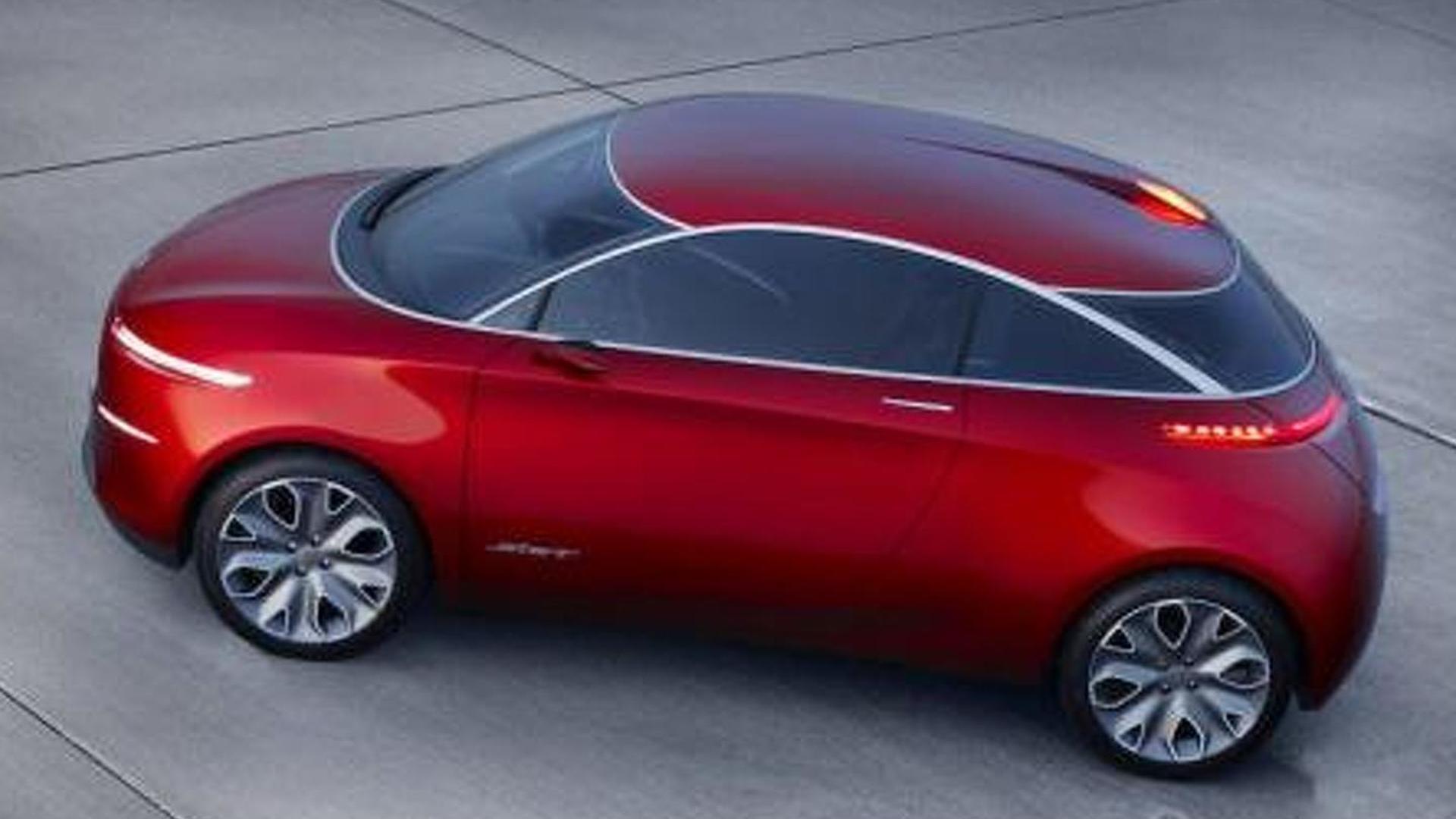 Ford Start Concept revealed with 3 cylinder EcoBoost engine