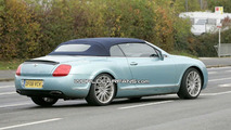 Bentley Continental GTC Speed Spy Photos