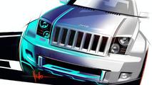 Jeep Trailhawk & Chrysler Nassau Concept Sketches Revealed