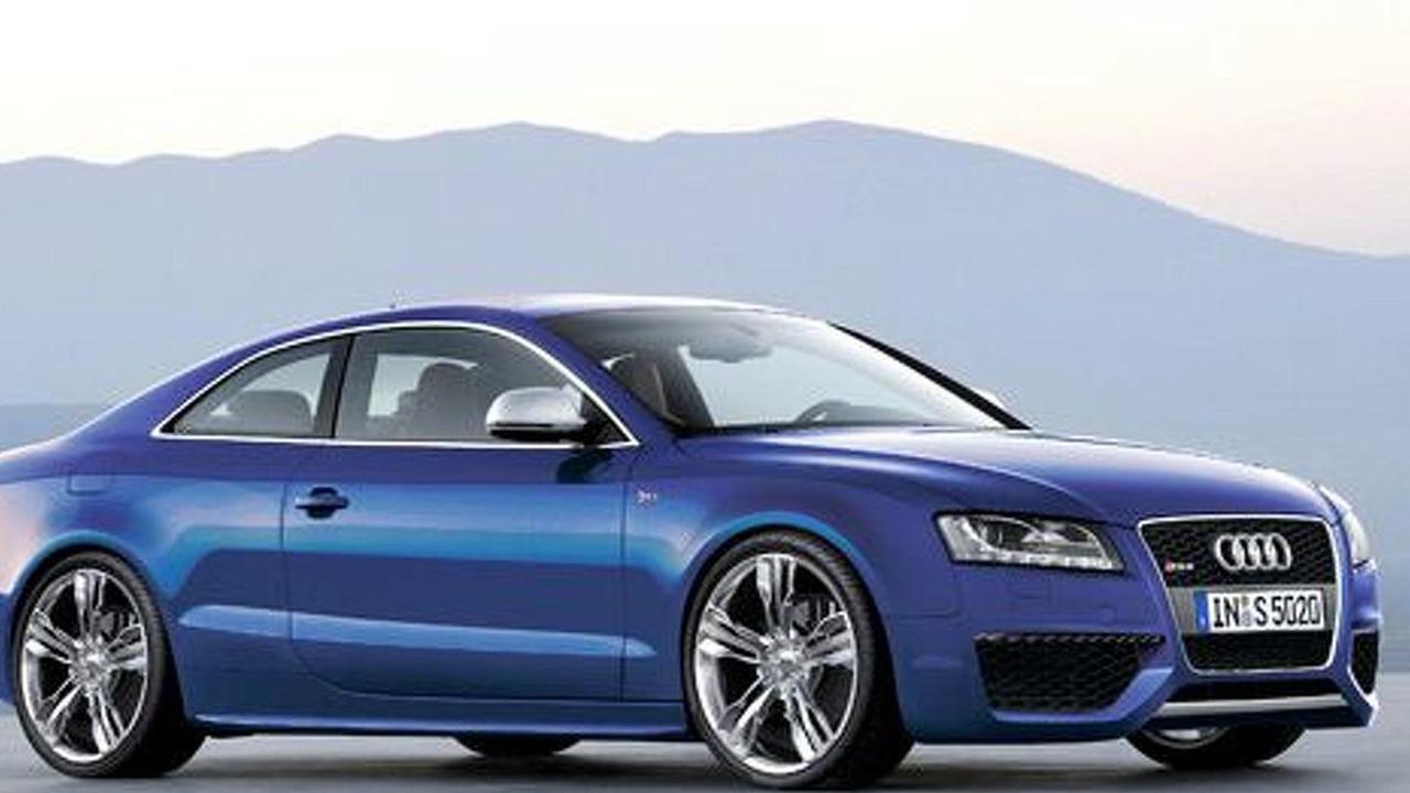 Audi RS5 artist rendering