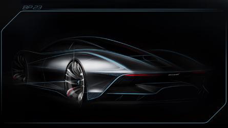 McLaren BP 23 é sucessor espiritual do F1. E todos já foram vendidos