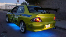 Paul Walker's Mitsubishi Evo from 2 Fast 2 Furious