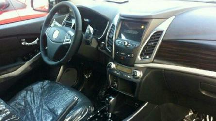 2014 SsangYong Korando facelift spied undisguised