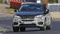 Next-gen BMW X6 spy photo 25.10.2013