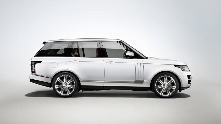 2014 Range Rover L long wheelbase introduced