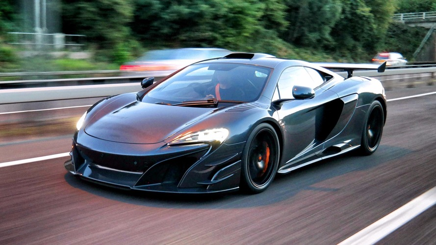 Watch a McLaren MSO HS delivery