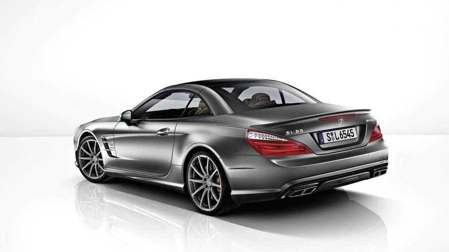 Mercedes SL 65 AMG 45th anniversary edition announced