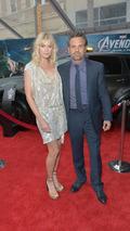 Sunrise Coigney And Actor Mark Ruffalo with S.H.I.E.L.D. Acura MDX 13.4.2012