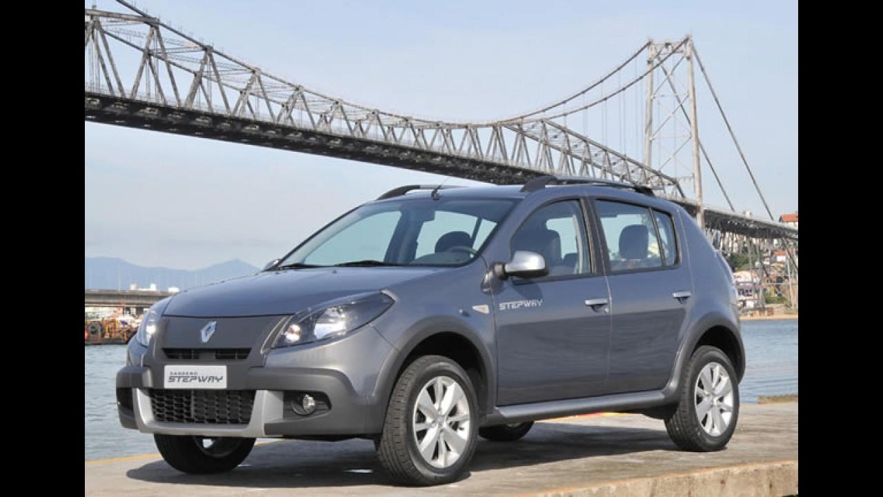 Renault oficializa Sandero Stepway com câmbio automático e preço inicial de R$ 47.490