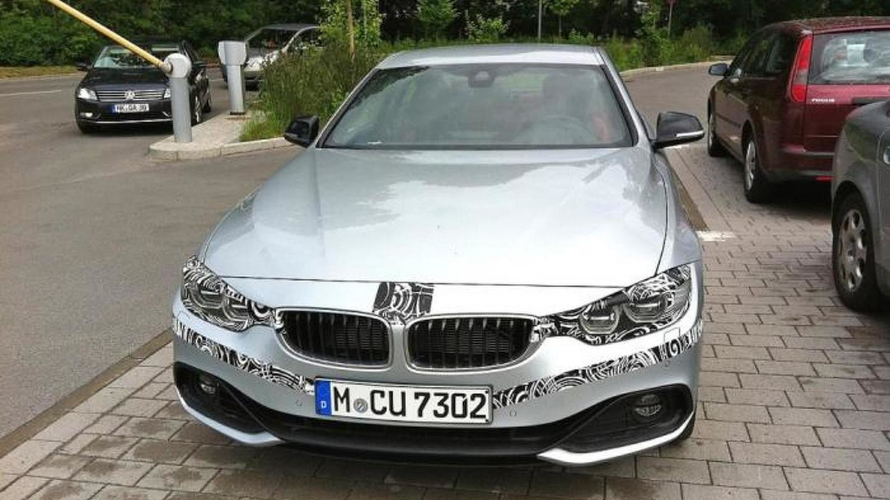 2014 BMW 4-Series Coupe spy photo 06.06.2013