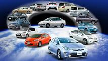 Toyota Hybrid Lineup 17.4.2013