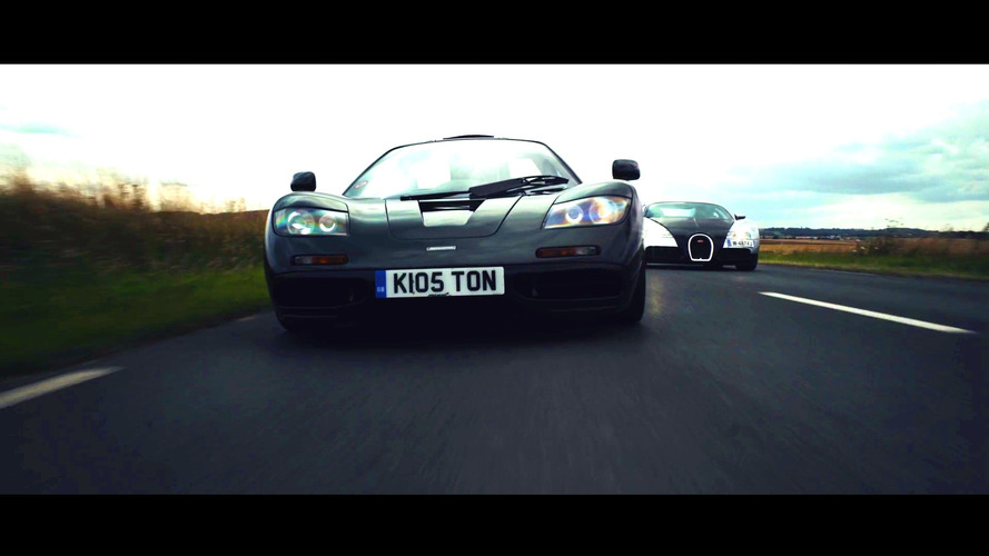 McLaren F1, Bugatti Veyron in Clash of the Titans