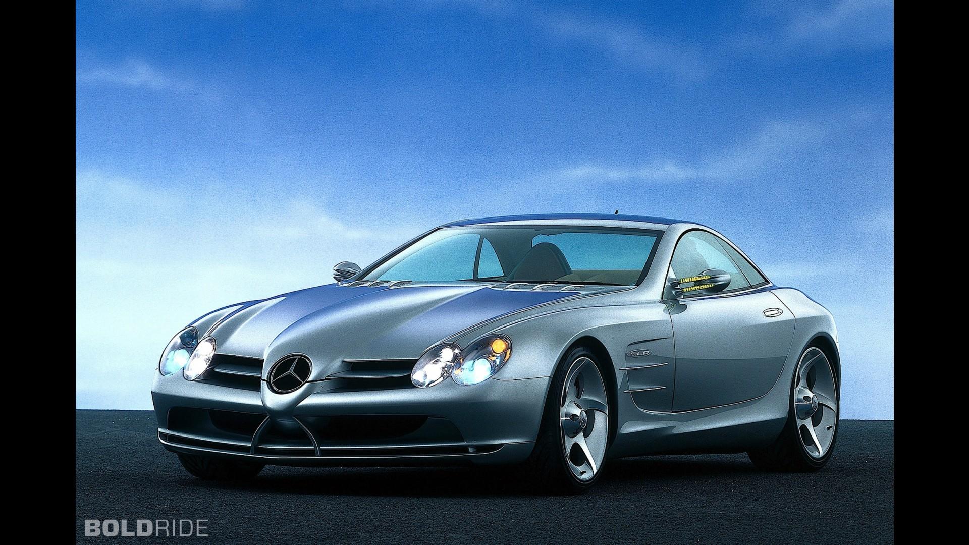 Mercedes benz vision slr concept for Mercedes benz vision