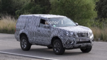 Nissan Navara based SUV spied for the first time