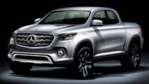 Mercedes pourrait présenter un concept pick-up à Paris