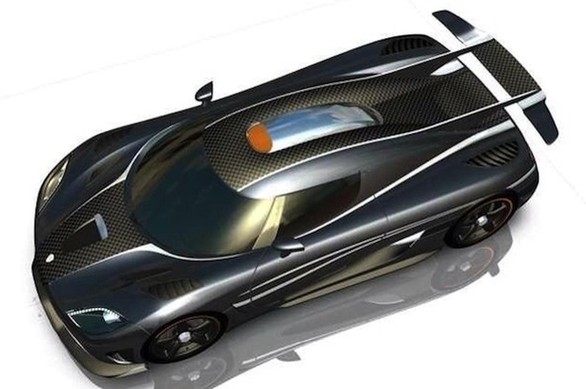 1,400HP Koenigsegg One: 1 Renderings Leaked