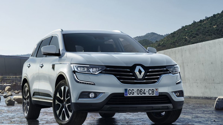 Allegedly official Renault Koleos replacement image leaks out