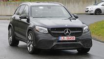 2017 Mercedes-AMG GLC 63 spy photos