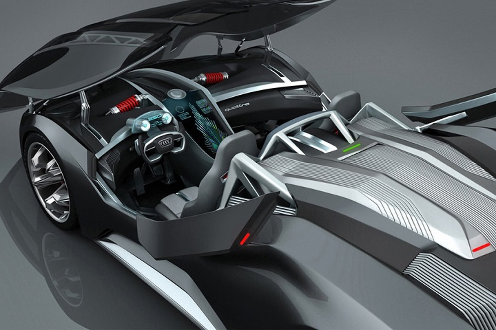 Audi F-Tron Concept is a Nuclear-Powered Glimpse of the Future