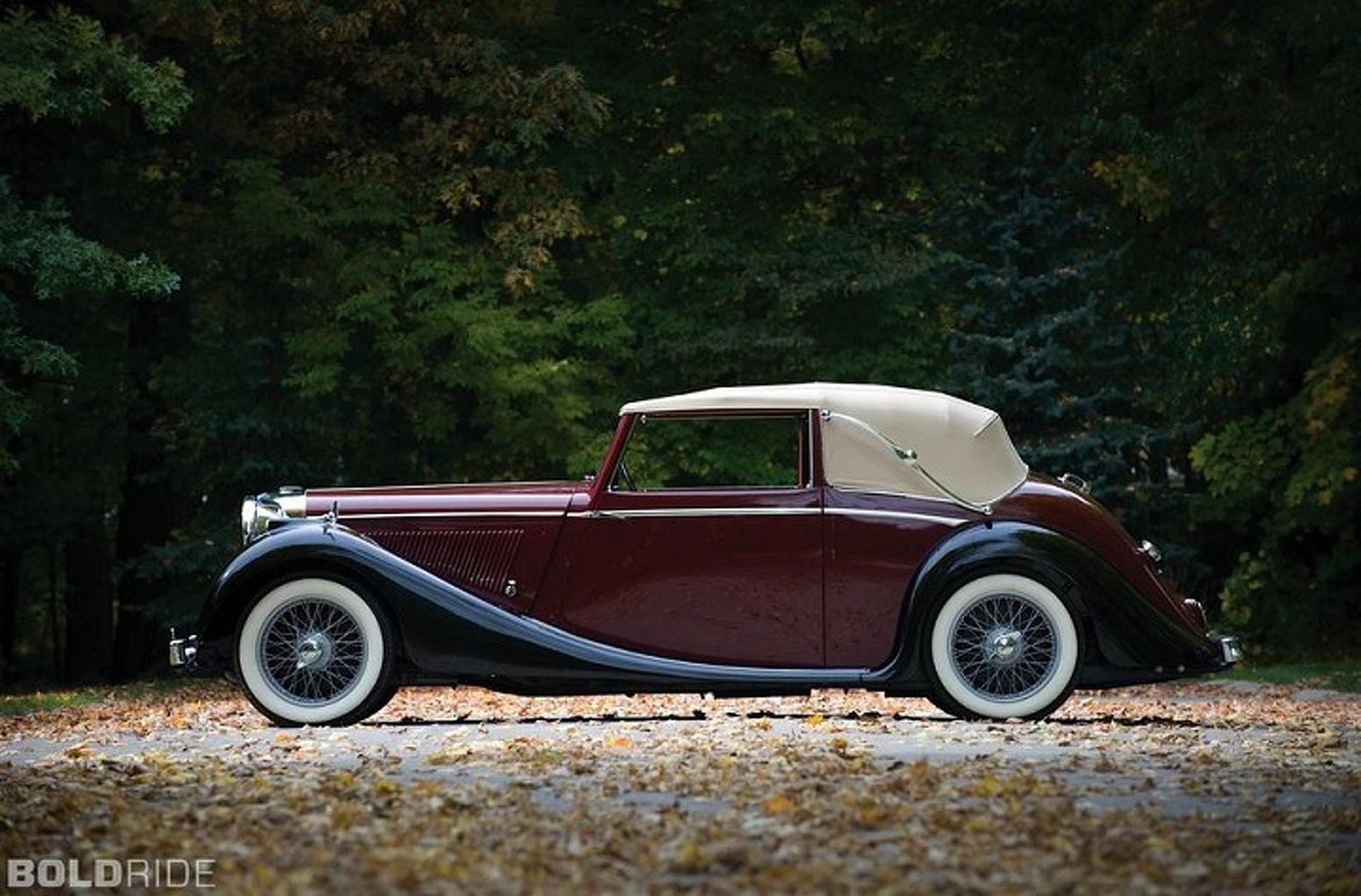 1948 Jaguar Mark IV Drophead Coupe: A Jaguar for a More Civilized Age