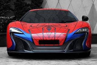 This McLaren 650S Just Got an Amazing Spider-Man Makeover