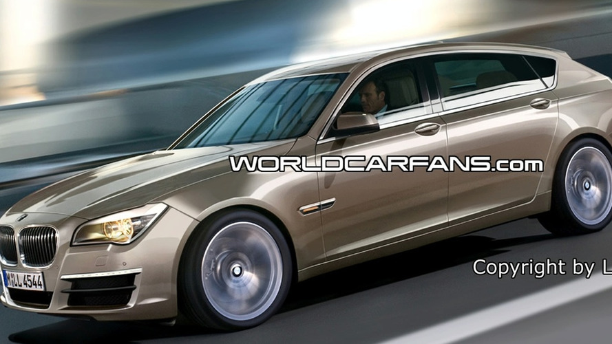 Rendered Speculation: BMW 5 Series PAS