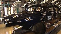 Audi Q5 on Production Line