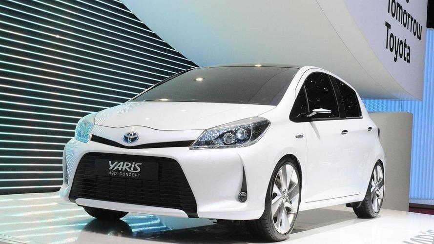 Toyota Yaris HSD Concept debuts in Geneva