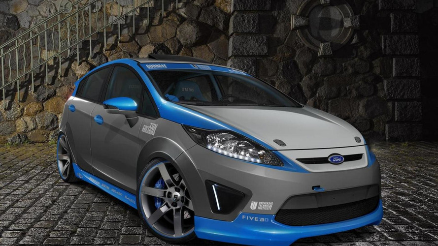 Eight Ford Fiestas bound for SEMA