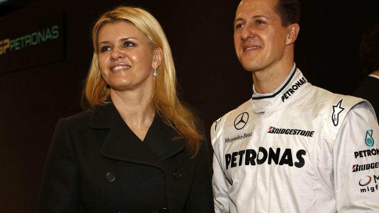 Mercedes GP MGP W01 car launch, Michael Schumacher - 25.01.2010
